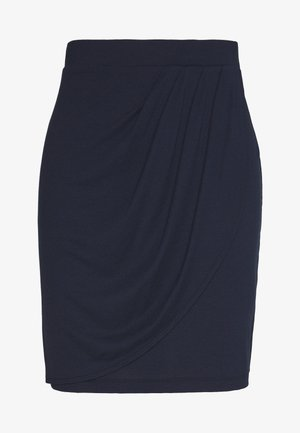 SG-030EE1D305       SOLID SKIRT - Mini skirt - navy