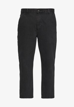 HARD WORK CARPENTER - Džíny Relaxed Fit - dusty black