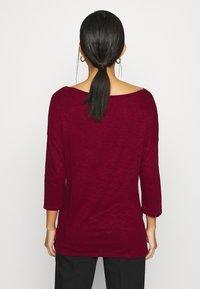 Sisley - Long sleeved top - dark red - 2