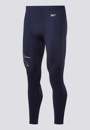 UNITED BY FITNESS COMPRESSION TIGHTS - Medias - blue