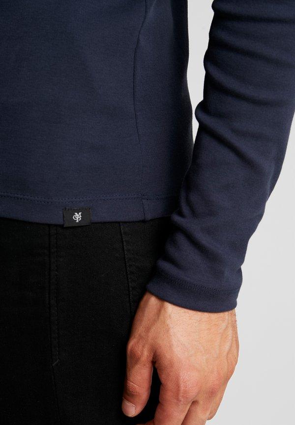 Marc O'Polo LONGSLEEVE TURTLENECK - Bluzka z długim rękawem - total eclipse/granatowy Odzież Męska IVXY