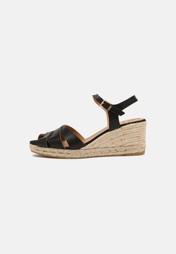 LAURA - Sandály na platformě - schwarz