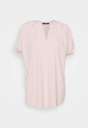 SMOKED SLEEVE BLOUSE - Blouse - soft rose