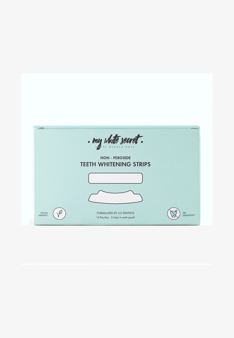 My White Secret - TEETH WHITENING STRIPS X 14 - Tandverzorging - -
