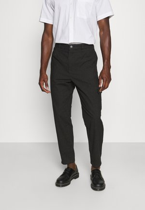 SLHSLIMTAPERED NORMAN PANTS - Cargo trousers - black