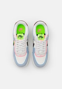 Nike Sportswear - AIR FORCE 1 SHADOW - Sneakersy niskie - sail/black/sunset pulse/light armory blue/electric green - 5
