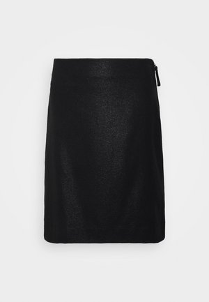 HOLLY SKIRT - Áčková sukně - black