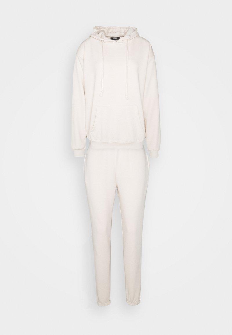 Missguided Tall - HOODIE SET - Hoodie - beige