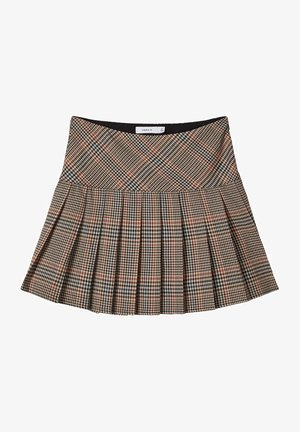 Pleated skirt - tannin