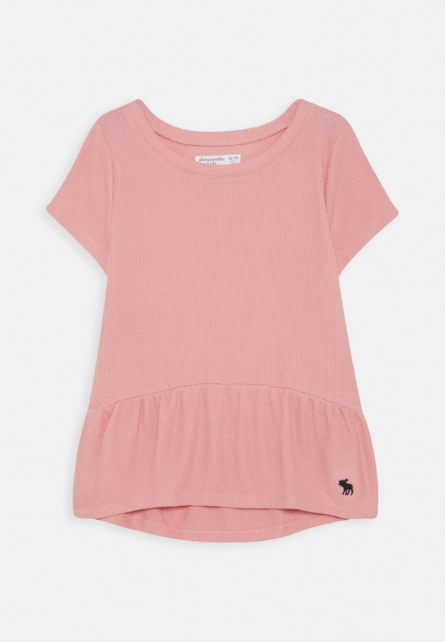 RUCHED TEE - Basic T-shirt - blush