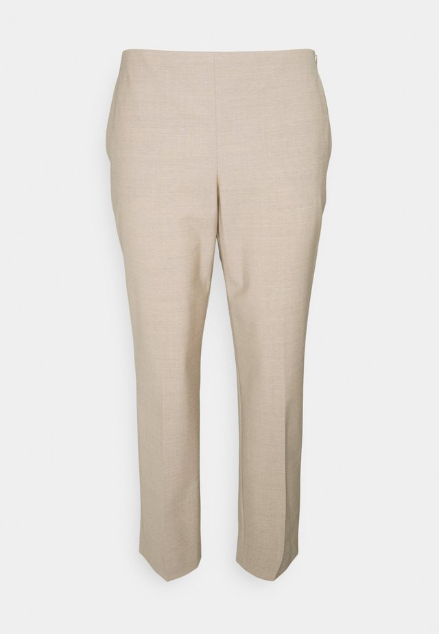 TREECA TRACEABLE - Pantalon classique - malt melange