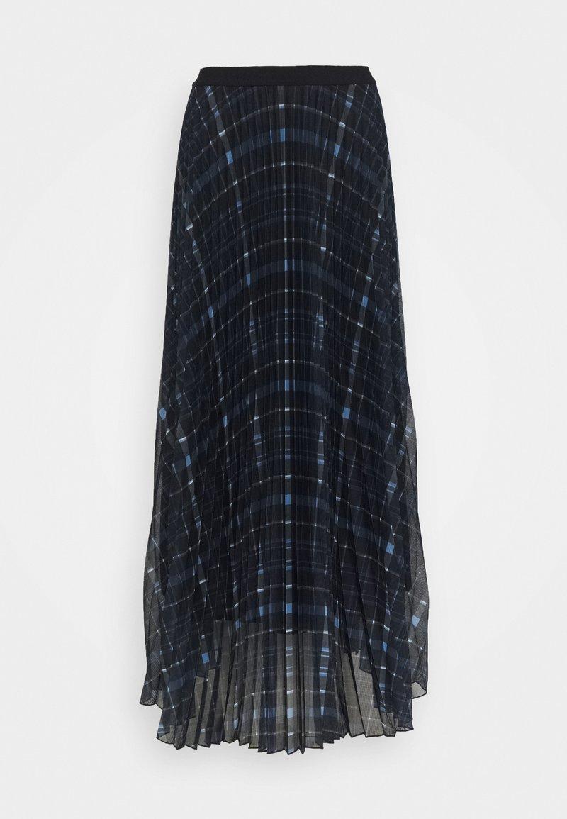 Marella - BRAMA - Maxi sukně - blu stampato