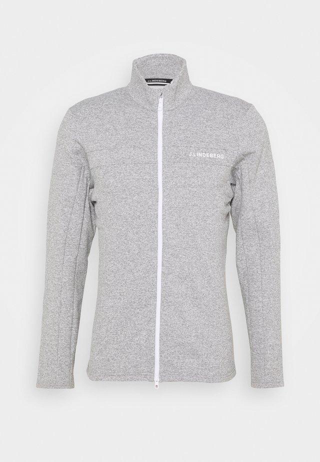 EMIL WATERPROOF - Hardshell jacket - stone grey melange