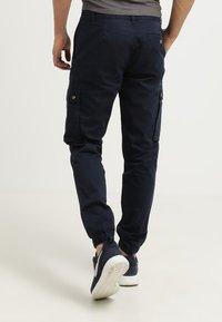 Pier One - Cargo trousers - dark blue - 3
