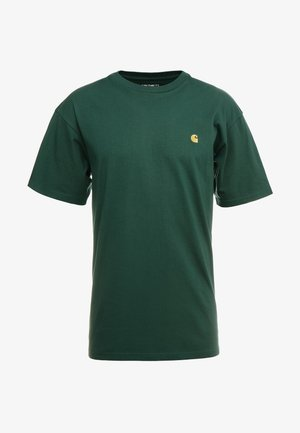 CHASE  - T-shirt basic - treehouse/gold