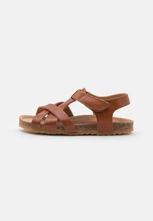 AIDEN UNISEX - Sandals - cognac