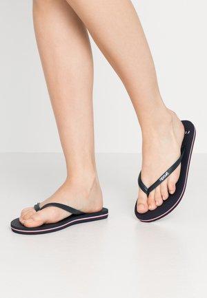 BONDI  - Pool shoes - navy/red