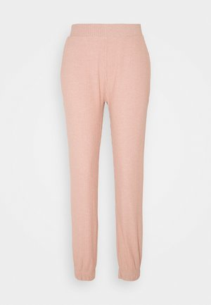 ONLNELLA PANTS - Tracksuit bottoms - misty rose