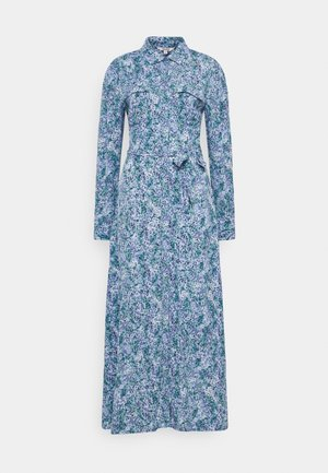 BEATA - Shirt dress - blue