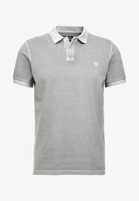 Marc O'Polo - SHORT SLEEVE BUTTON PLACKET - Polo - light grey - 3