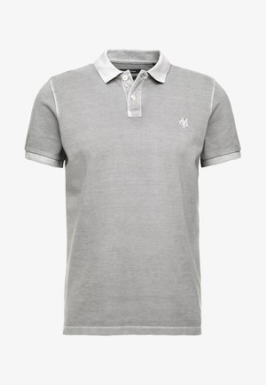 SHORT SLEEVE BUTTON PLACKET - Polo - light grey