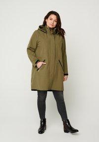 Zizzi - Outdoor jacket - green - 1