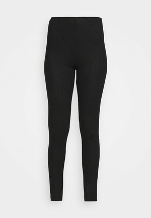 NEW THERMAL LEGGI - Pyjamasbukse - black mix