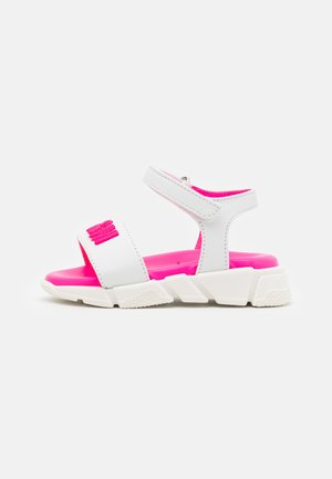 Sandals - white/pink