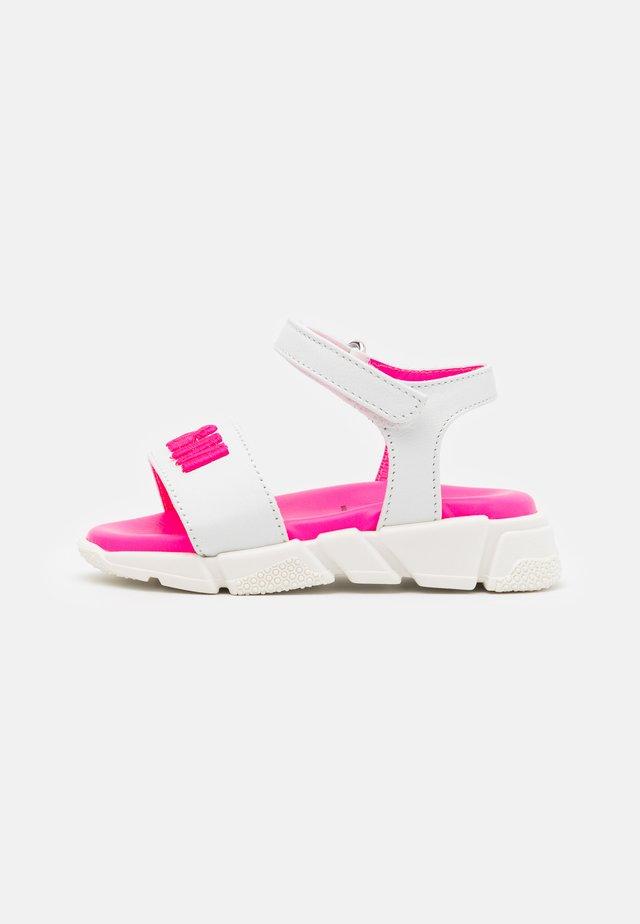 Sandalen - white/pink