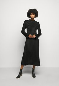 House of Dagmar - STINA - Jumper dress - black - 0