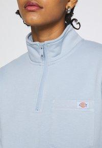 Dickies - OAKPORT QUARTER ZIP  - Sweatshirt - fog blue - 4