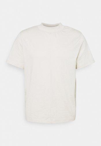 CAMERON MOCKNECK TEE - T-shirt - bas - vanilla