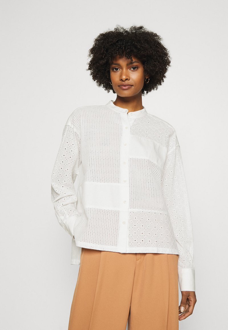CLOSED - KARLA - Button-down blouse - offwhite