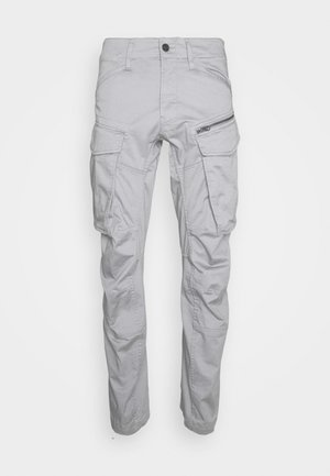 ROVIC ZIP TAPERED - Cargobroek - steel grey