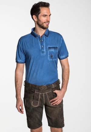 GEORGIO - Leather trousers - brown