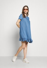 Paulina - MISSION - Day dress - blue - 1