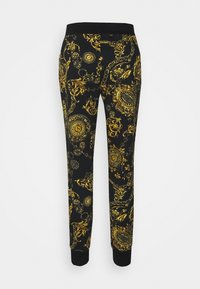 Versace Jeans Couture - PANTS - Tracksuit bottoms - black/gold - 7