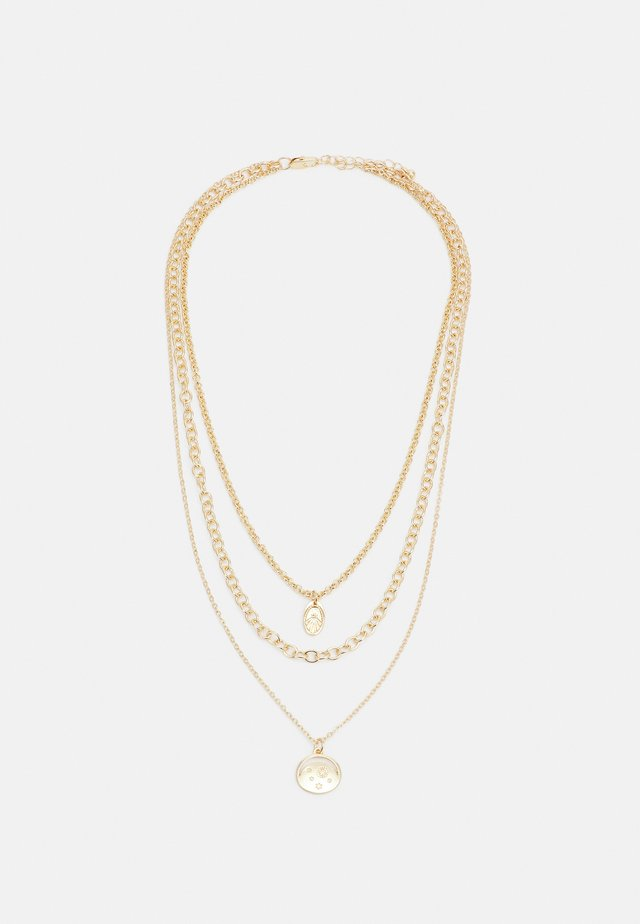 PCJIALANIA COMBI NECKLACE - Ketting - gold-coloured