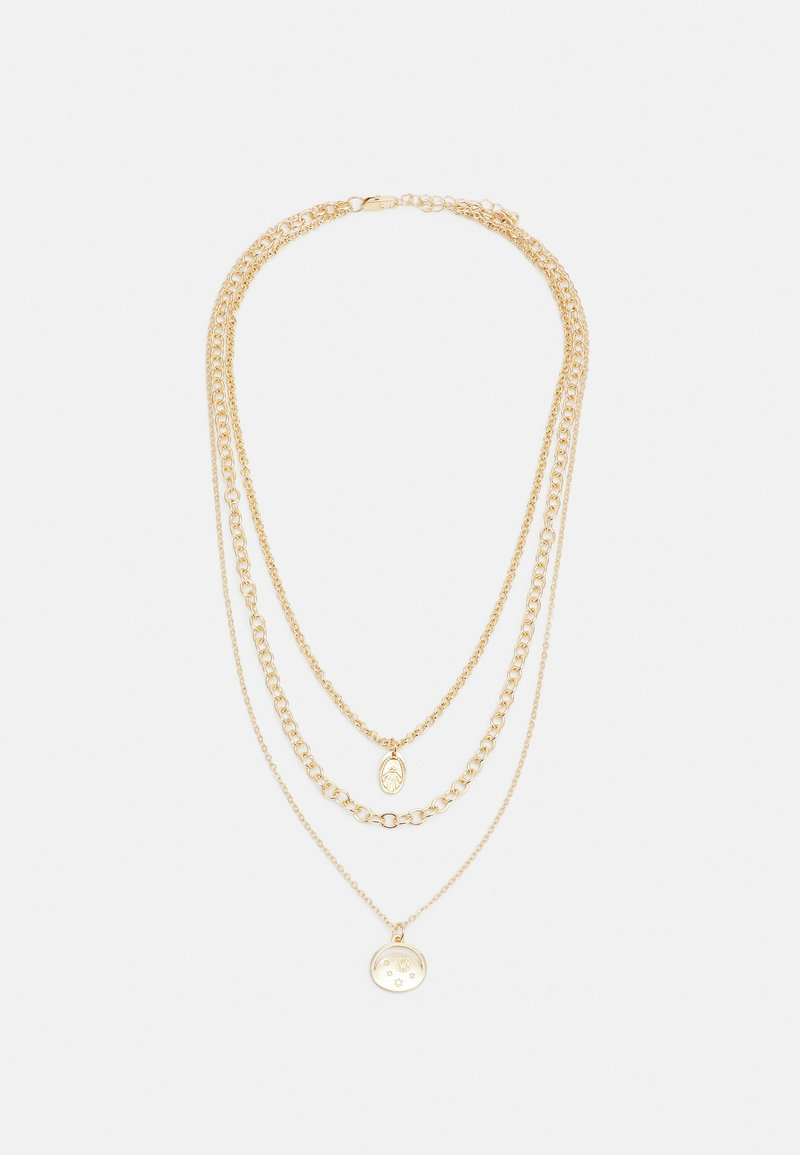 Pieces - PCJIALANIA COMBI NECKLACE - Smykke - gold-coloured