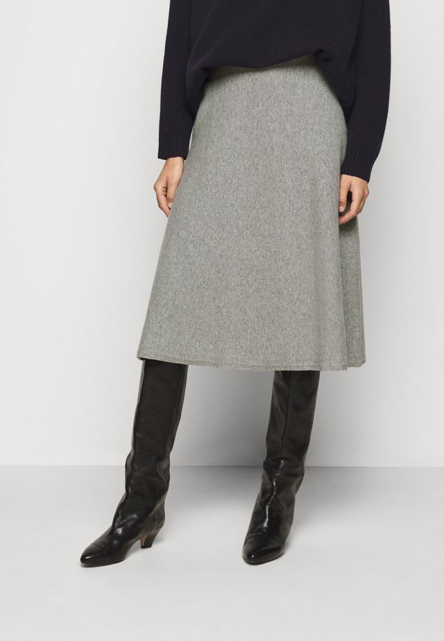 CACHI - A-line skirt - mittelgrau