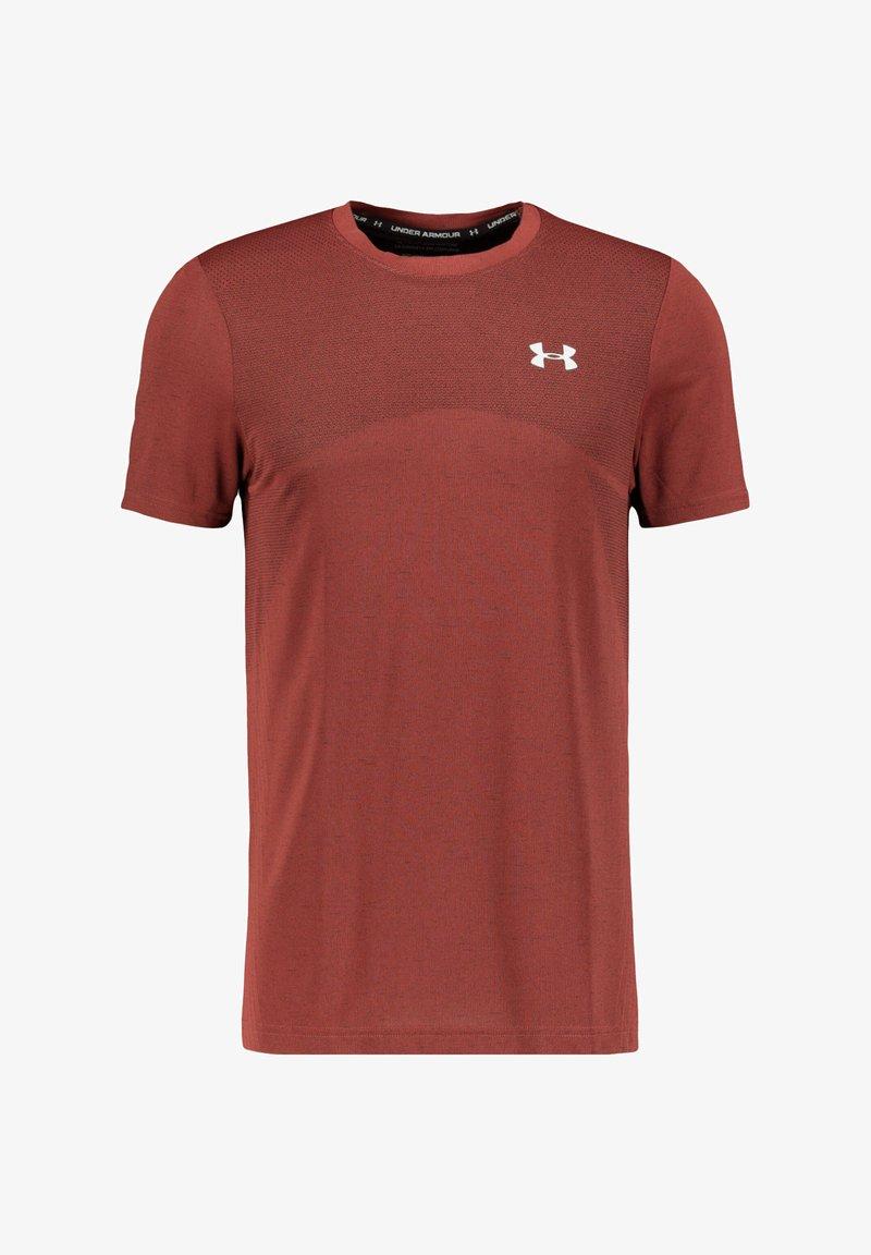 Under Armour - Basic T-shirt - cassis