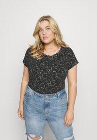 Ragwear Plus - T-shirt print - dark grey - 0