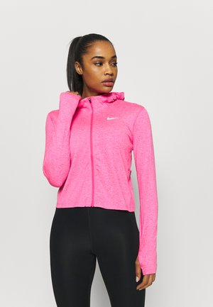 ELEMENT - Training jacket - hyper pink/pink glow