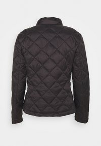 Vila - VIMINSK SHORT QUILTED JACKET - Lett jakke - black - 1