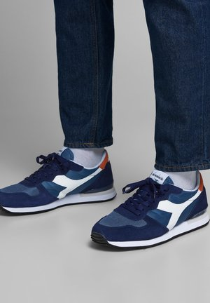 Sneaker low - medieval blue