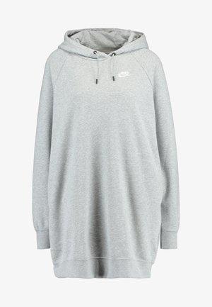 DRESS - Day dress - grey heather/white