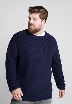 STITCH PLUS SIZE - Jumper - midnight navy