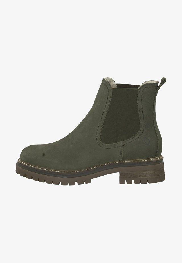 Boots à talons - olive