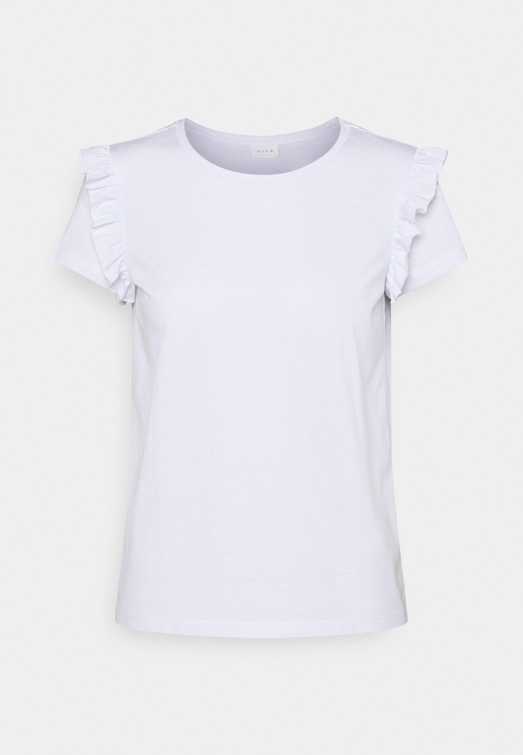 Damen VIDREAMERS FRILL PETITE - T-Shirt print
