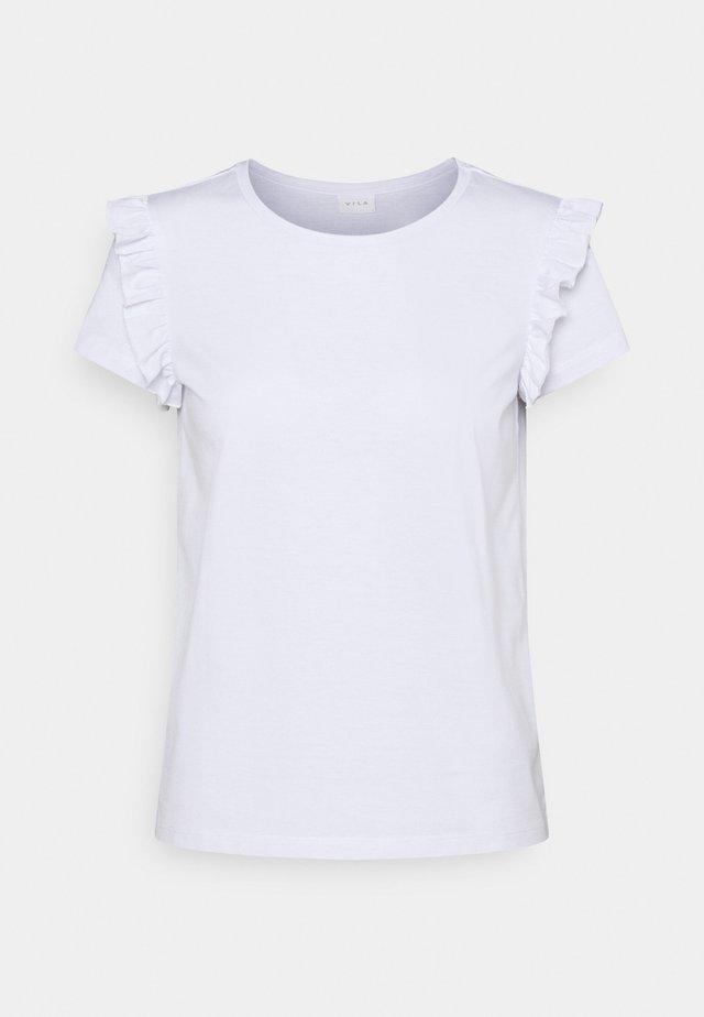 VIDREAMERS FRILL PETITE - T-shirt imprimé - optical snow